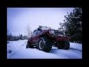 Зимние покатушки: внедорожные приключения Автопанорамы