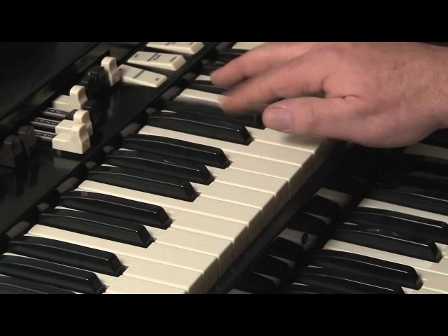 LESSON 7 - HOW TO PLAY JAZZ ROCK LICKS ON A HAMMOND B3 or C3 ORGAN