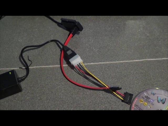 Подключение SATA и IDE устройств через USB по системе Plug and Play. VCOM VUS7056 SATA/IDE to USB.