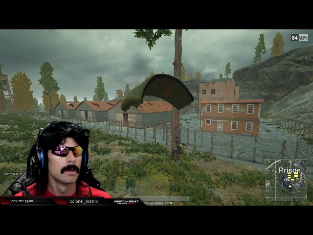 Doc Dies From Falling Bug (DrDisRespect)