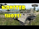 World of Tanks Funny Moments MONSTER SHOTS 2 Derp it up