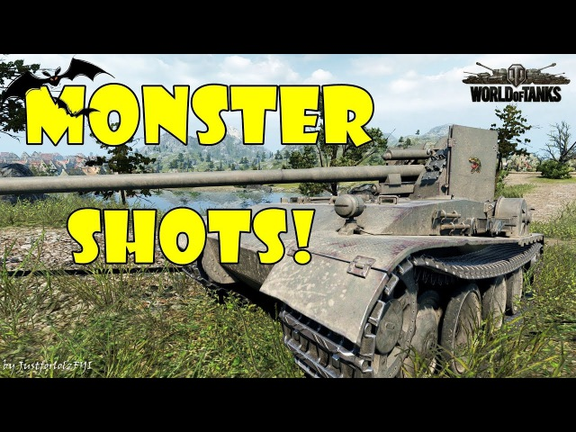 World of Tanks - Funny Moments | MONSTER SHOTS! 2 (Derp it up!)