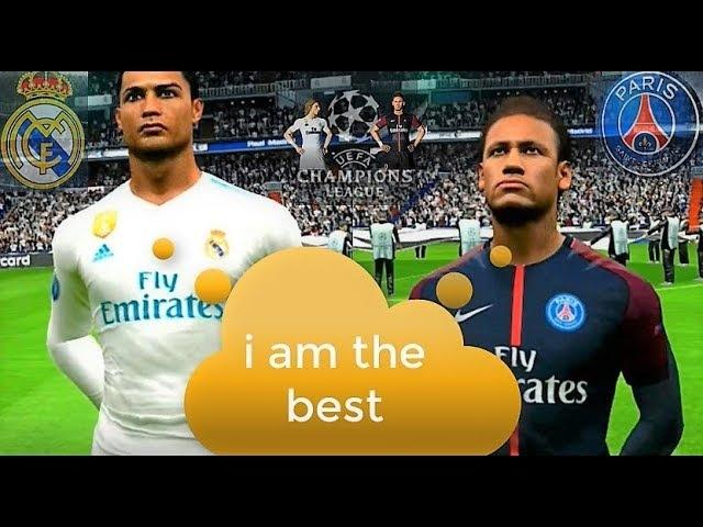 Who is the Best? Ronaldo or Neymar?   Real Madrid vs PSG   UEFA Champions League  