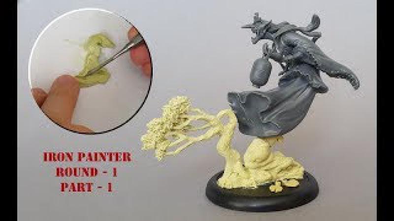 Iron Painter round one, Malifaux Ama no Zako part 1