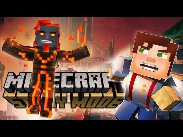 ЗЛОЙ АДМИН ЗАХВАТИЛ ГОРОД! - Minecraft: Story Mode Season 2 12