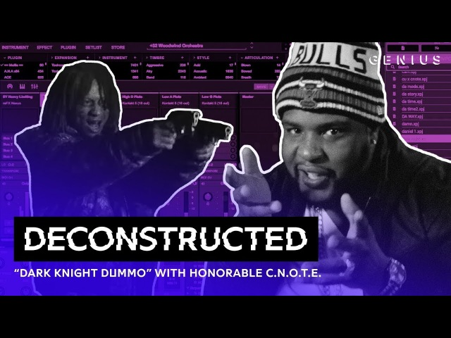 The Making Of Trippie Redd's Dark Knight Dummo With Honorable C.N.O.T.E. | Deconstructed