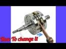 How To Change Motorcyle Connecting Rod Kit Crank As | Cara Mengganti Setang Seher Motor