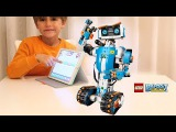 Lego Boost Robot: Build, Code, Play - Cool Toy