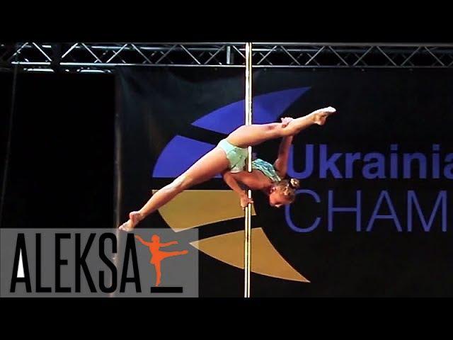 Прибыль Ева - выступление на UPSF - Pole Sport (Pole Dance) - Пол спорт (Пол денс спорт)