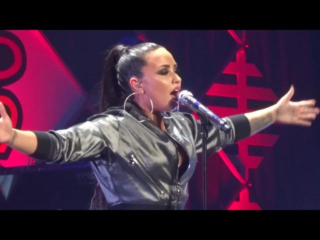 Demi Lovato - ''Tell Me You Love Me'' at WiLD 94.9 Jingle Ball San Jose 11/30/17 HD