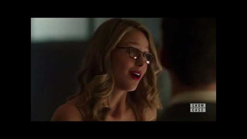 Supergirl 3x08. Kara and Barry speaking about Mon-El