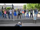 Танец «Нано-техно» от Лазурного на ул.Б.Покровской 19.05.2013
