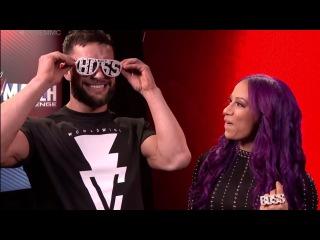 Kurt Angle pairs Finn Bálor with Sasha Banks for WWE Mixed Match Challenge