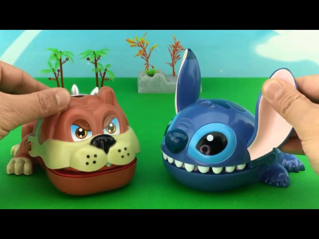 LEARN COLORS PEPPA PIG TOYS With Dinosaurs and Surprise Bad Dog Game