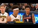 IOWA vs ILLINOIS February 28,2018 | College Basketball