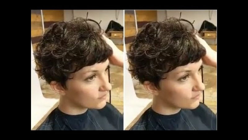 How to cut women's short hair - Short layered haircut Step by Step - Hairbrained