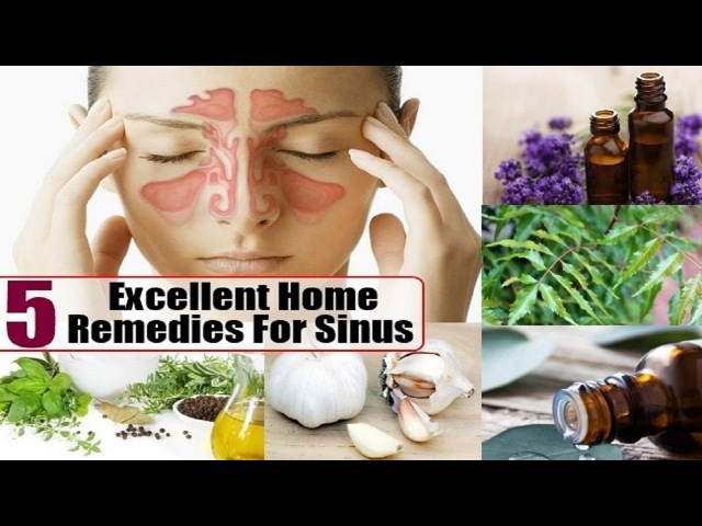 5 Home Remedies for Acute Sinusitis.
