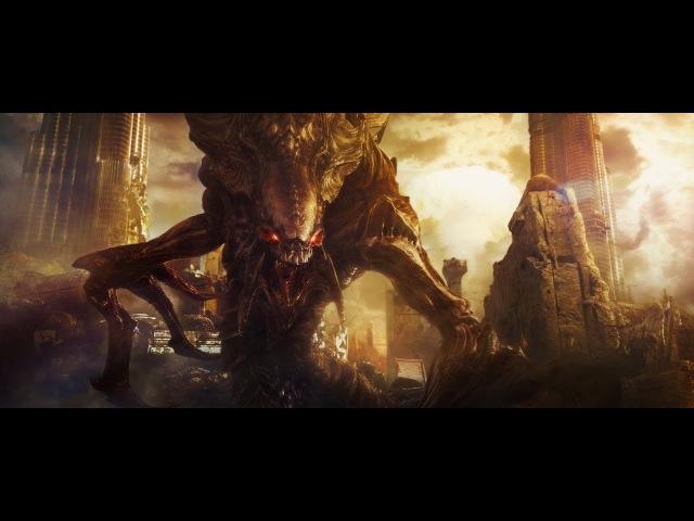 ЗВЁЗДНОЕ РЕМЕСЛО Космическая боевая фантастика анимационный игрофильм по Starcraft