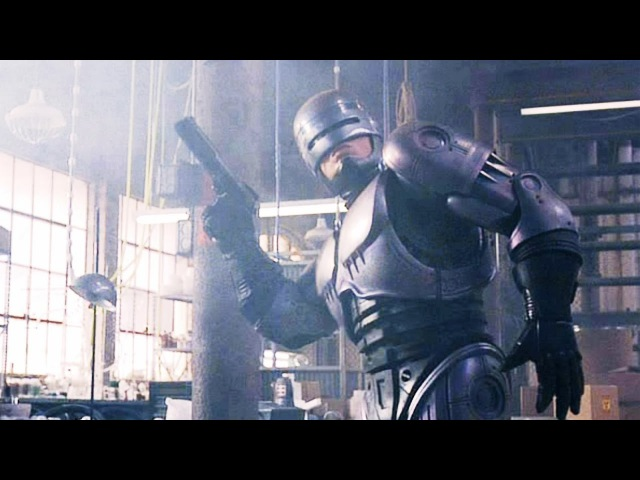 Robocop 1987 Drug Factory Raid High Quality