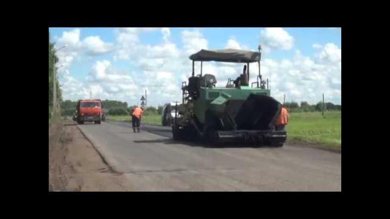 В Дюртюлях идет ремонт дорог и придворовой территории