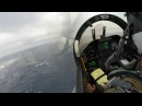 F-18 Carrier Landing Bad Weather