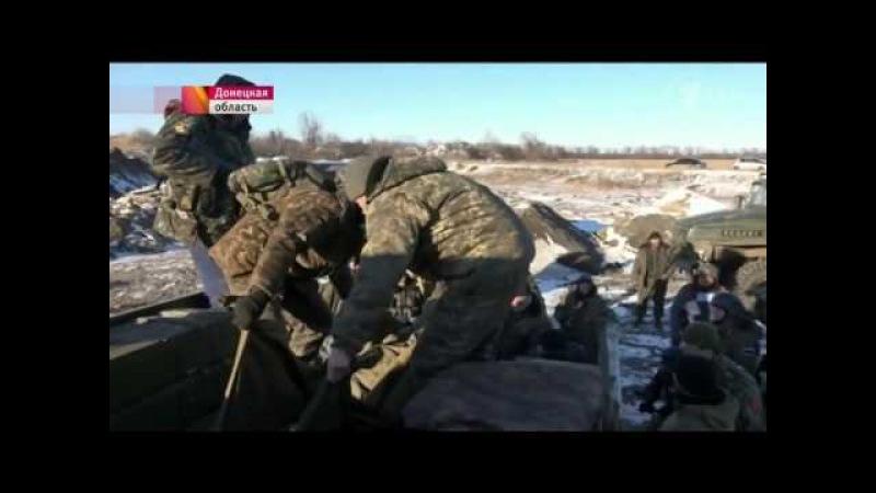 72 укропа из 40 го батальона 'Кривбасс' сдались в плен под Дебальцево 17 02 2014 Опубликовано 18 февр 2015 г