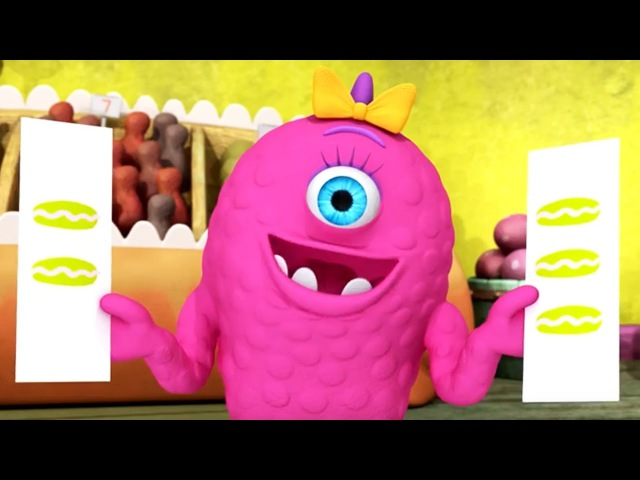 Monster Math Squad Full Episode Compilation | Picky Eater's Picnic A Muffin Mystery Who's on First