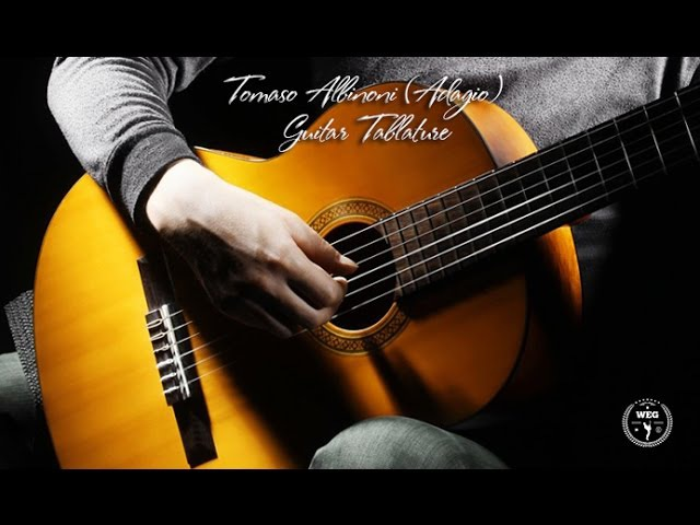 Adagio - Tomaso Albinoni (Guitar Tablature)