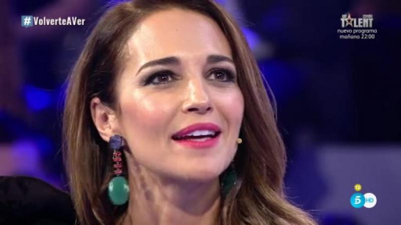 """Paula Echevarría- """"Acabo de firmar un contrato con Mediaset para los próximos 3 años"""""""