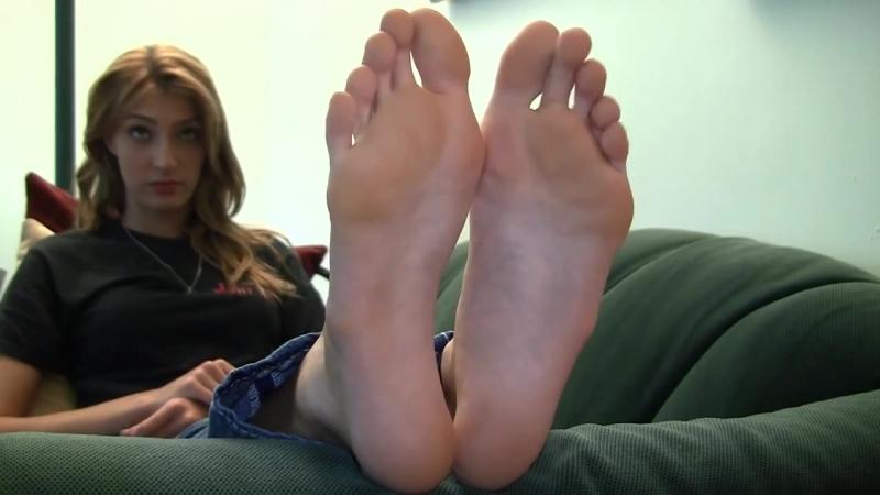 Tall blond girl big feet (size12)