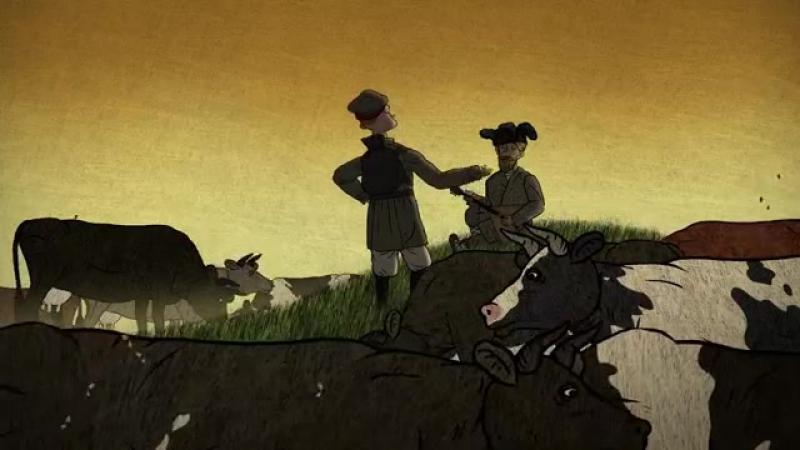 Гора самоцветов - Солдат и птица (A soldier and a bird) Солдатская сказка