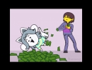 Temie money темми деньги undertale ₩
