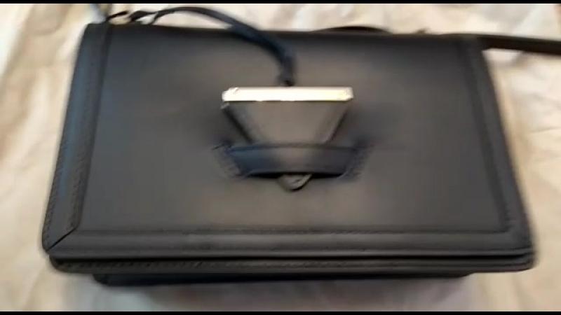 НОВАЯ итальянская сумка RENATA CORSI из натуральной кожи Косметичку L'OCCITANE ОТДАМ В ПОДАРОК
