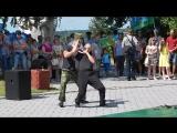 Выступление ШКВАЛ на день ВДВ 2017 Сызрань
