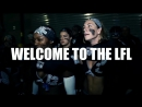 LFL Legends football league GIRLS ATTACK - hits and fights !