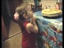 День рождения. Нине три года