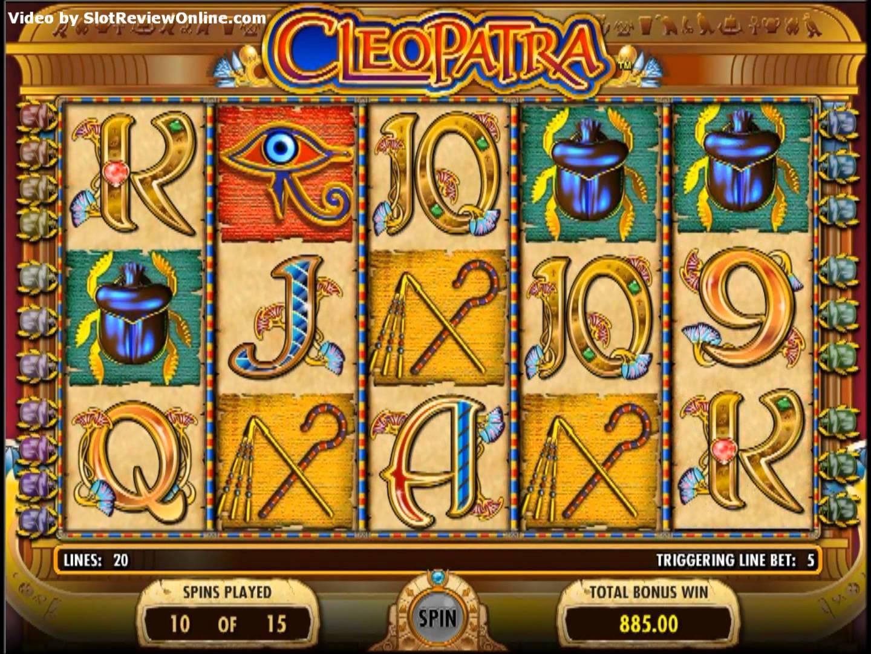 игровые автоматы онлайн бесплатно клеопатра