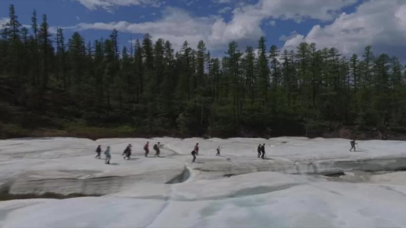 В поисках прекрасного. нерюнгринские ледники.