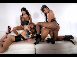 #Pron Aubrey Kate, Domino Presley, Venus Lux & Jessica Drake