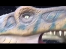 Егорчик на выставке динозавров