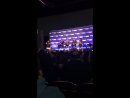 Part 2 of Stephen Amell crashing David and Emily's panel