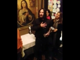 Keanu and the Virgin Mary …