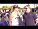 Pre Match Interview with Tennis Player Victoria Azarenka - Desert Smash