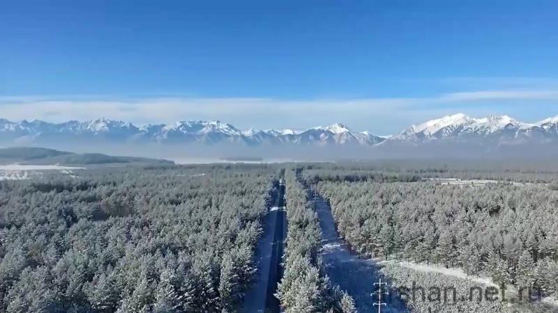 Аршан зимой Солнечная Бурятия Тунка ч.1