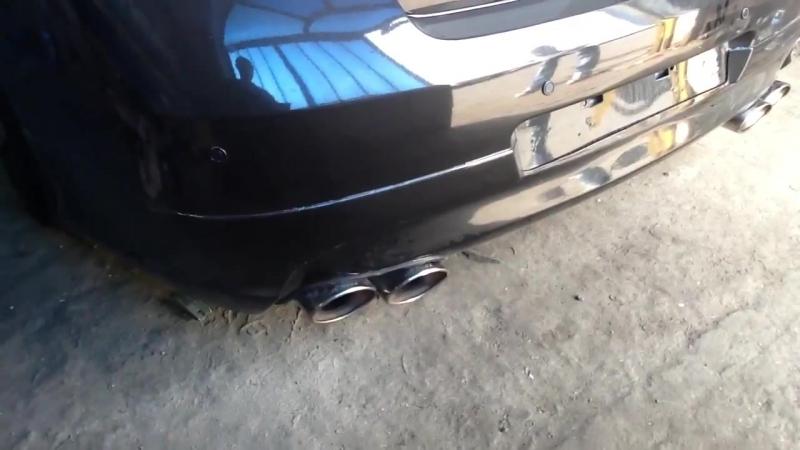 Infiniti выхлоп MG-Race