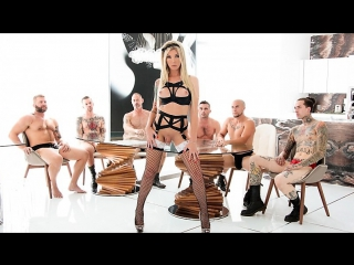 Aubrey kate - ts knockout aubrey's 6-cock gangbang [2017 г., transsexual, gonzo, anal, 720p]