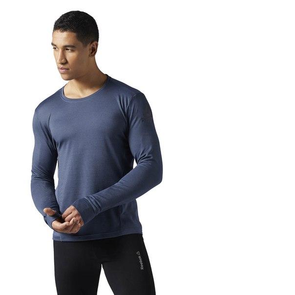 Спортивная футболка с длинным рукавом Running Wool Mix