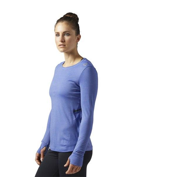Спортивная футболка с длинным рукавом
