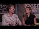Good Morning America | Интервью с Полом Беттани и Элизабет Олсен