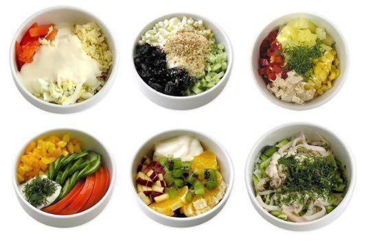 Доброе утро! #Быстро и #вкусно. 6 самых полезных и простых салатов